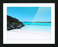 Uncharted Waters Picture Frame print