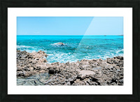 Smooth Waters Ahead Picture Frame print