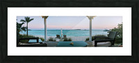 Sunset in Highbourne Cay Picture Frame print