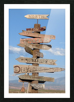 Crossroads at Moab Picture Frame print