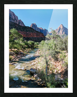 Zion in Morning Light Picture Frame print