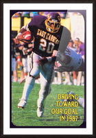 1987 East Carolina Football Picture Frame print