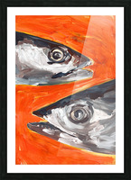 Fresh Fish  Picture Frame print
