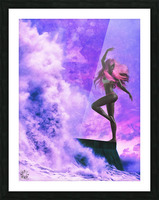 TheDancers 1.1 Female Picture Frame print