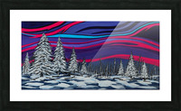 Snowy Trees Chinook Art IMG_0180 Picture Frame print