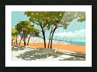 Monaco Picture Frame print