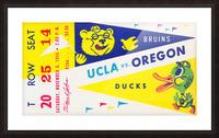 1954 UCLA vs. Oregon Picture Frame print
