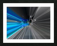 WARP SPEED Picture Frame print