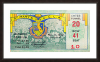 1932 St. Marys vs. UCLA Picture Frame print
