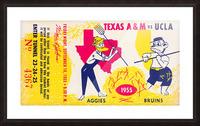 1955 UCLA vs. Texas Picture Frame print