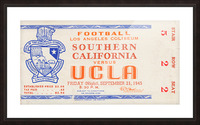 1945 USC vs. UCLA  Picture Frame print