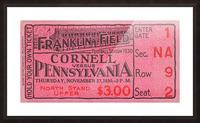 1930 Cornell vs. Penn Picture Frame print