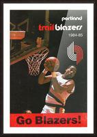 1984 Portland Trailblazers Picture Frame print
