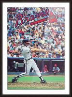 1988  Atlanta Braves Dale Murphy  Picture Frame print