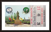 1972 Michigan State vs. Ohio State Picture Frame print