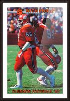 1983 Clemson Pride Picture Frame print