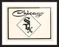 1961 Chicago White Sox Art Picture Frame print