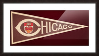 1950s University of Chicago Picture Frame print