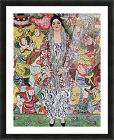 Portrait of Frederika Maria Beer by Klimt Picture Frame print
