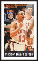 1988 New York Knicks Mark Jackson Picture Frame print