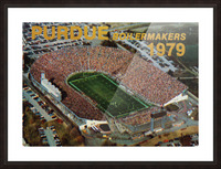 1979 Purdue Ross-Ade Stadium Art Picture Frame print