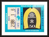 1972 Michigan vs. Ohio State Picture Frame print