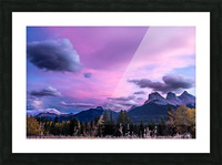 Three Sisters Cosmic Sky IMG_5594 Picture Frame print