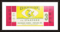 1962 Oregon vs. Stanford Picture Frame print