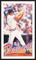 1983 Atlanta Braves Dale Murphy Picture Frame print