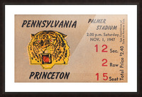1947 Princeton vs. Penn Picture Frame print