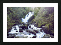 Torc waterfall in Killarney National Park Picture Frame print