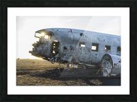 Solheimasandur Plane Crash Southern Region Iceland Picture Frame print