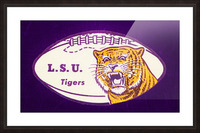 1960s LSU Tigers Football Picture Frame print