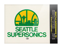 1979 Seattle Supersonics Fleer Decal Picture Frame print
