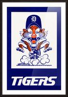 1972 Detroit Tigers Art Picture Frame print