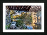Grand River at Mechanicsville Ohio Picture Frame print