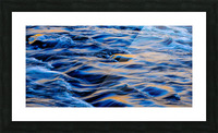 Flowing reflections 5 Picture Frame print