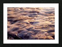 Lake Erie waves 6 Picture Frame print