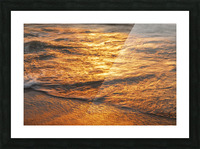 Lake Erie waves 5 Picture Frame print