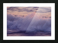 Lake Erie waves 4 Picture Frame print