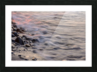 Lake Erie waves 2 Picture Frame print