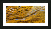 Flowing reflections 4 Picture Frame print