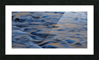 Flowing reflections 3 Picture Frame print