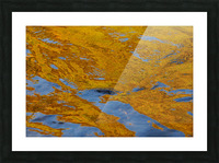 Flowing reflections 2 Picture Frame print