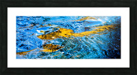 Flowing reflections 1 Picture Frame print