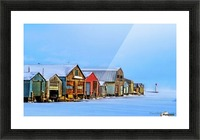 Boat Houses Picture Frame print