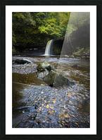Autumn at Sgwd Gwladus Picture Frame print