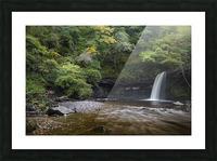 Sgwd Gwladus near Pontneddfechan Picture Frame print