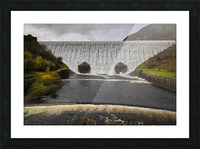 The Elan Valley dam Picture Frame print