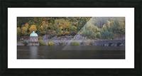 The Carreg Ddu reservoir Picture Frame print